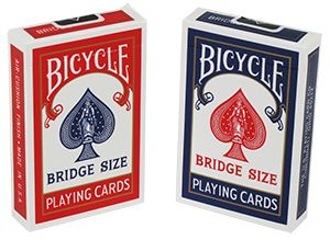 U.S. Playing Card Company Bicycle Bridge Size (keskeny) kártyacsomag