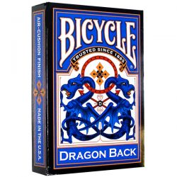Bicycle Bicycle Dragon Back - Blue kártyacsomag