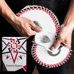 Bocopo Cardistry Fanning Playing Cards - White Edition kártyacsomag