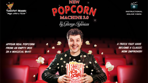 Twister Magic Popcorn Machine 3.0 by George Iglesias