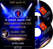 Joker Magic 14. Joker Magic Day 2018, OLMAC szeminárium + Gála DVD