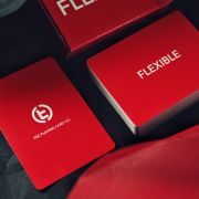 Flexible Playing Cards - Red