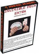 Joker Magic Invisible Deck Extra (Made from Bicycle cards)