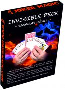 Joker Magic Invisible Deck (Made from Bicycle cards)