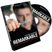 Remarkable by Richard Sanders (Gimmick + DVD)